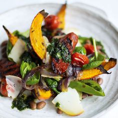 Hot Chorizo Salad With Butternut Squash: Recipes: Food: Red Online