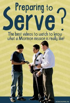 The best videos to watch to know what a Mormon misison is really like!