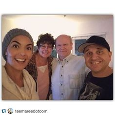 #Repost @teemareedotcom  Bellies full of good food and tired from good laughs. After dinner pic with my hubby father in law and his girlfriend. #gratefulandblessed