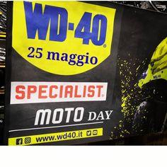 WD-40 Specialist Moto Day: 25 maggio 2018  #WD40 #WD40SpecialistMoto