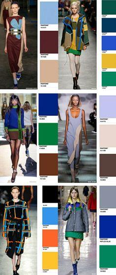 Farbpalette Herbsttyp- Trendfarben in der Mode- Wir wollen uns die aktuellen Farben der Herbst/Winter Saison 2014/2015 anschauen und dann auch besprechen...
