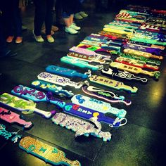 Alpha Chi paddles