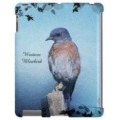 Western Bluebird iPad Case