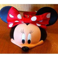 Disney Minnie Face Mickey Mouse Ears Hat Limited Edition Ornament