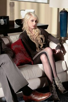 Taylor Momsen/ I always loved Jenny Humphrey Character in Gossip Girl.