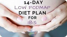 The 14-Day Low FODMAP Diet Plan For IBS is a Dietitian-made plan to help you eliminate FODMAPs from your diet- a proven trigger of IBS