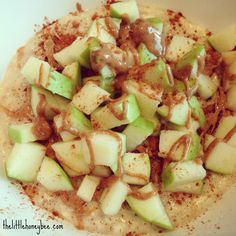 Apple Cinnamon Protein oatmeal3