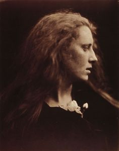 Julia Margaret Cameron    Ophelia (Mary Pinnock)    Albumen print, 1867    From Julia Margaret Cameron's Women