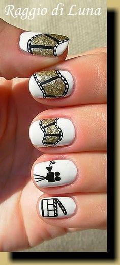 Raggio di Luna Nails: Filmstrip #nail #nails #nailart