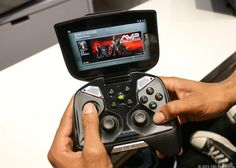 """Nvidia Shield embraces Android games by the thousands Monday's update brings Android Jelly Bean to the game device, and a new """"console mode"""" turns Shield into a portable living-room game console. Best Android Games, Android Apps, Free Android, Latest Technology Gadgets, Game Tag, Linux, Nintendo Consoles, Gaming, Jelly"""