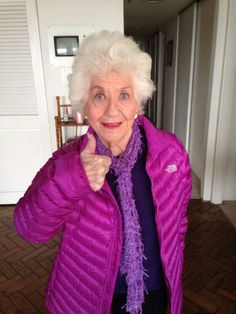 Actress and 5 year Pancreatic Cancer Survivor Charlotte Rae