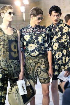 I wonder if they sell anything I like within a few thousand kilometres of where I live... // Dries Van Noten SS14