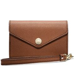 Michael Kors Saffiano Leather iPhone Wristlet * Like new condition!  * Never had the chance to use it  * I believe it holds an iPhone 3 or 4  * 3 card slots  * A zippered compartment inside * Compartment at the back of the wallet * ✨Reasonable offers welcomed Michael Kors Bags Wallets