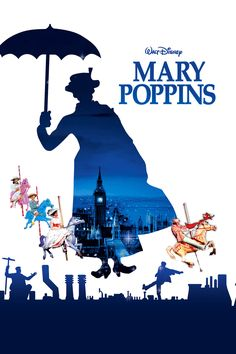 """Join the """"practically perfect"""" Mary Poppins (Julie Andrews) for a """"Jolly Holiday"""" as she magically turns every chore into a game and every day into a whimsical adventure. Along the way, you'll be enchanted by unforgettable characters such as the multitalented chimney sweep Bert (Dick Van Dyke). You won't need a """"Spoonful Of Sugar"""" to love every moment of this timeless Disney classic!"""