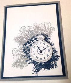 Stampin Up Clockworks by mbrixey - Cards and Paper Crafts at Splitcoaststampers