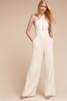 0f355ab43d BHLDN Kathryn Jumpsuit in Bride Reception   Rehearsal Dresses