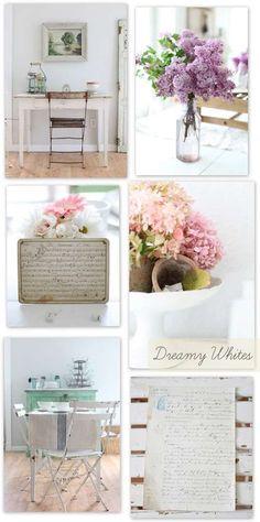 Farmhouse Style at Dreamy Whites | decor8