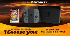 RT to WIN a Nintendo Switch #PokemonIChooseYou prize pack  jet s. (@frugaliscious) | Twitter