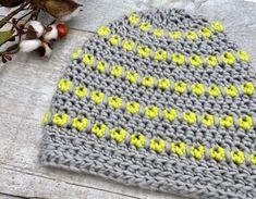 Rocksteady Beanie - Free Pattern | Through The Loop Yarn Craft Crochet Round, Free Crochet, Craft Patterns, Crochet Patterns, Foundation Half Double Crochet, Crochet Hat For Women, Crochet Winter, Lion Brand Yarn, Knit Picks