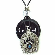 Native American Indian Inspired Bear Paw Necklace Pendant Women's Men's Jewelry V.S. Pendants and Necklaces. $15.99. Native American Indian Inspired Bear Paw Necklace Pendant Women's Men's Jewelry