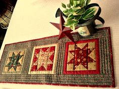 QUILT RUNNER WALL hanging by AuntiJoJos