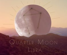 ☾Quarter Moon⌇⠀ Jan 8, 2:24pm at 18°35' ⠀ ⠀ Raven Kaldera calls this moon the Judge's Moon. When the Sun is in Capricorn and the Moon is in Libra, the Judge comes out to play. Quarter moon is a time when we must shift our perception of the outer world, take action and initiate. ⠀ Its time to make sound decisions based off of logical and practical knowledge acquired during this moon cycle.  #astrology #quartermoon #libra #horoscope #sunsign #birthchart #esoteric #witchy #moon #horizon