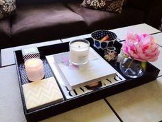 15 Gorgeous Coffee Table Vignettes to Inspire Your Own – Nyde