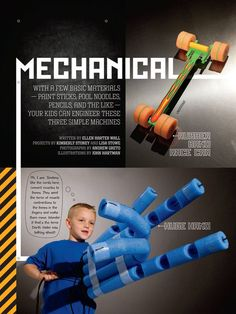 """Teaching Mechanics with simple machines"""