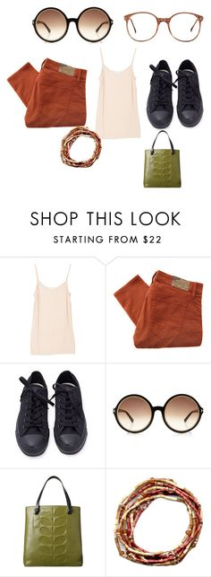 """Untitled #5400"" by brittklein ❤ liked on Polyvore featuring Joie, Denim & Supply by Ralph Lauren, Converse, Tom Ford, Orla Kiely and American Apparel"