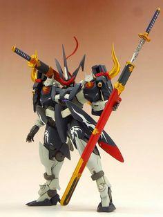 Custom Build: 1/144 Blade GN-X Orochi