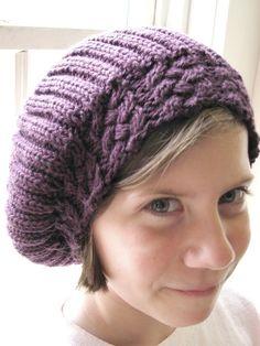 cute slouch hat pattern
