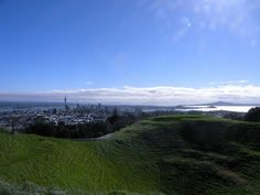 Mt. Eden, Auckland, New Zealand. Taken by a Kiwi Experience passenger.