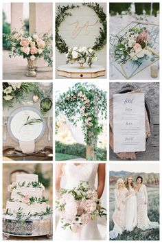Blush florals with lots of greenery and a touch of brushed gold. www.tulleandtwine.ca Sage Green Wedding, Rose Wedding, Blush Wedding Colors, Wedding Flowers, Dream Wedding, Taupe Wedding, Summer Wedding Colors, Wedding Color Schemes, Floral Wedding
