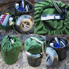Cordura Organizer Case for Your ZEBRA Loop Handle Pot -FIREBOXSTOVE.COM…