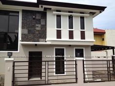 House Paint Exterior Philippines For 2019 Beige House Exterior, House Paint Interior, Exterior Paint Colors For House, House Paint Design, Small House Design, Modern House Design, Modern Zen House, Modern House Colors, Modern Bungalow