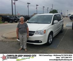 #HappyBirthday to Loyce Gallegos from Brent Villarreal  at Dodge City of McKinney!