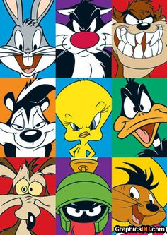 WB Loony Toons Bugs bunny Tasmanian Devil Pepe Le Pew Pie Daffy Duck Wile E. Coyote Marvin the Martian Speedy Gonzales WB Loony Toons Bugs bunny Tasmanian Devil Pepe Le Pew Pie Daffy Duck Wile E. Coyote Marvin the Martian Speedy Gonzales Looney Tunes Characters, Looney Tunes Cartoons, Cartoon Characters 90s, Looney Tunes Funny, Looney Tunes Party, Bugs Bunny Cartoons, Comedy Cartoon, Watch Cartoons, Cartoon Memes