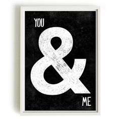 A4 Typographic Print black and white van blackandtypeshop op Etsy