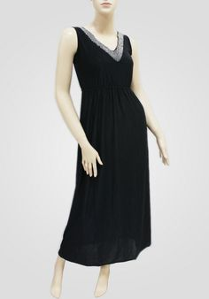 MAXI DRESSES -- BEADED SOLID COLOR DRESS -- SUNDRESSES WHOLESALE  Item Information: This Girls Dress is made of high quality material. Unique design, attract more attention. Package(6 Piece), 6 assorted colors