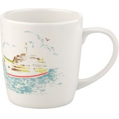 This melamine mug features classic Boat print and is ideal for garden parties, summer picnics and camping. Matching sandwich box and bowls also available.