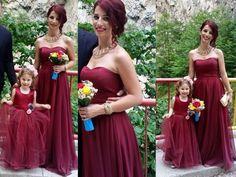 #mademoiselle #atelier #dress #marsala #silk
