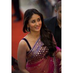 Kareena kapoor pink and purple saree: Ref B623