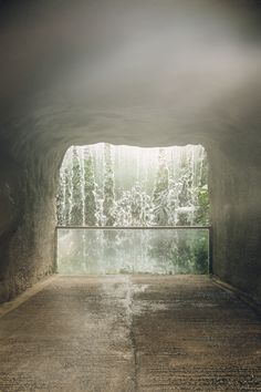 HAARKON Tropical Jungle Glasshouse Greenhouse Plants Garden waterfall