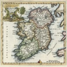 Items similar to Ireland Map, Antique Map of Ireland, Irish Map on Etsy Best Of Ireland, Ireland Map, Love Ireland, Antique World Map, Antique Maps, World Map Wallpaper, England Ireland, Irish Celtic, Old Maps