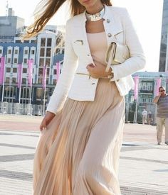 How to wear White Blazer | Fashion Inspiration Blog