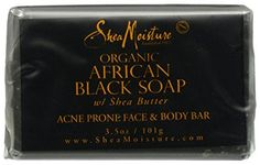 SheaMoisture African Black Soap Facial Bar Soap – 3.5 oz | Your #1 Source for Beauty Products
