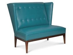 Shop for Fairfield Chair Company Settee, 5740-40, and other Living Room Settees at Englishman's Interiors in Dallas, TX. Tight Back/Tight Seat. Available in Leather. Nail-head Trim (Small Only) Available as an Optional Upgrade. Casters: N/A.