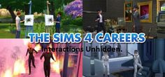 Mod The Sims: Career interactions unhidden by Manderz0630 • Sims 4 Downloads
