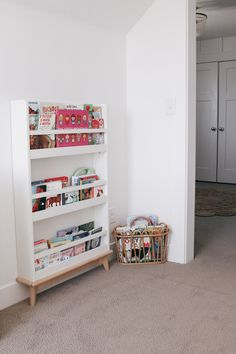 All of the toddler room inspiration-- The perfect mix bewteen eclectic, boho, and clean, craftsman. Modern Playroom, Toddler Playroom, Playroom Design, Playroom Decor, Playroom Storage, Girl Decor, Girl Room, Baby Room, Room Paint