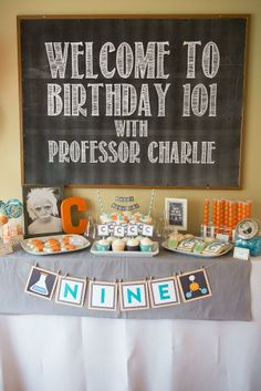 """I like the """"Birthday 101"""" tie-in."""